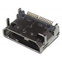 HDMI female connector, 19Pin horizontal SMT type Manufactures