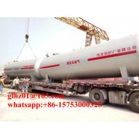 China China made lpg tank with 60m3 capacity. horizontal storage tank for LPG on sale