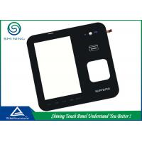 5 Inch 4 Wire Touch Sensor Panel Resistive With Touch Sensing LCD Modules Manufactures