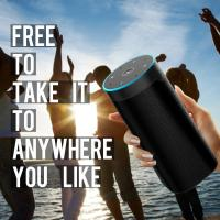 Wireless Voice Controlled Smart WIFI Speaker Black Or Customized Color Manufactures