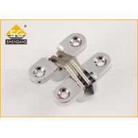 43*18*13mm Metal Invisible Small Concealed Hinge For Luxury Boxes Cross Hinges For Jewelry Box And Small Box Manufactures