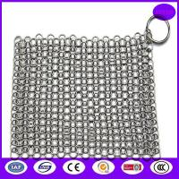 China china stainless steel wire pot scrubber for sale in good quality with nice price on sale