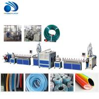 China Flexible PVC Water Garden Hose Pipe Making Machine High Speed Extrusion on sale