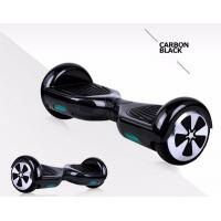 Black Self Balancing Electric Scooter Hoverboard Manufactures