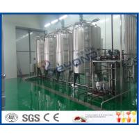 Quality ISO 2TPH 10TPH Fruit Juice Processing Line For Fruit Juice Production Process for sale