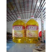 Promotional Inflatable Product Replicas Oil Packing Bottle For Shopping Mall Manufactures
