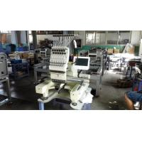 China Computer Control Single Head Embroidery Machine With Flat And Garments Function on sale