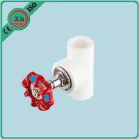 Buy cheap Welding Connection Normal PPR Check Valve With Red Metal Handle 20mm - 75mm Port from wholesalers