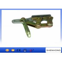 ISO Approval Self Gripping Clamp / Double Cam Clamp 30KN Rated load Manufactures
