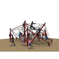 Outdoor Kids Climbing Nets With Nylon Rope 690 * 530 * 270 CM Manufactures