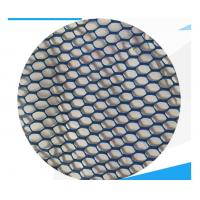 China Weather Resistant PVC Mesh Fabric 260g 50m -100m/Roll Length Eco Friendly on sale