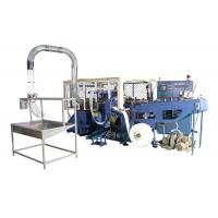 China 35kw Automatic High Speed Paper Container Making Machine with Flameless Hot Air Sealing on sale
