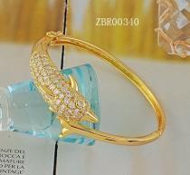 China 18k gold plating bangle bracelet charm on sale