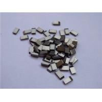 High Erosion Resistant Tungsten Carbide Saw Tips High Toughness Anti Corrosive Manufactures
