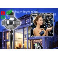 120 - 240V Outdoor LED Snowflake Projector For Winter Festival And Shop Promotion Manufactures
