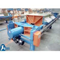 China Quick Discharge Membrane Filter Press For Iron / Copper Ore / Gold Mine Tailing Sludge on sale