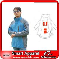 Ourdoor Varsity Jacket for Men With Battery Heating System Electric Heating Clothing Warm OUBOHK Manufactures