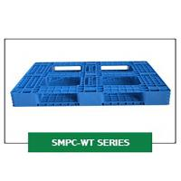 Large Heavy Duty Polyethylene 4-way Fork Lifts Industrial Rackable Plastic Pallets Manufactures