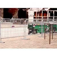 Rio Olympic games(2016) pre-galvanized Crowd Control Barriers Made In China Top Fence Manufactures