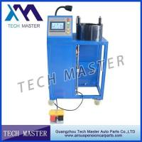 4KW  Power Hydraulic Hose Crimping Machine For Air Shock Absorber Manufactures