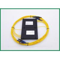 1x4 1550nm Single Mode Couplers For Broadband Access Network , Passive Optical Devices Manufactures