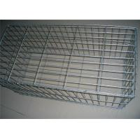 Stainless Steel Gabion Baskets , Welded Gabion Baskets Corrosion Resistance Manufactures