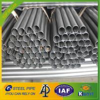 Q235 Black Round ERW Welded Steel Pipe Manufactures