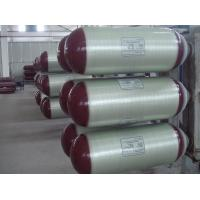 China Natural Gas Powered Trucks Type 2 Cng Tank With Glass Fiber Wrap 200 bar Working Pressure on sale