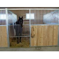 Galvanized Steel Horse Stall Fronts Temporary Horse Stable For Competition Manufactures