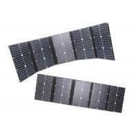 China 20v 100w Foldable Solar Panel For Solar Power System 142x30cm Unfolded Dimension on sale