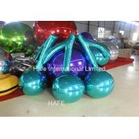 China Customize Giant Mirror Balloon Cherry Shape for Fruit Exhibition on sale