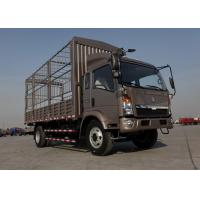 7 Ton Stake Animal Transport Truck, WLY535 Transmission Cattle Transport Trucks Manufactures