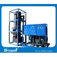 10T/D Heavy Duty Commercial Tube Ice Machines For Ice Making , Saving Energy Manufactures