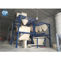 Full Automatic Dry Mortar Production Line For Cement Sand Mixing / Packing Manufactures