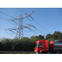Quality Galvanized Steel Lattice Tower Power Transmission Line  Towers 20 M ~ 50 M 4L for sale
