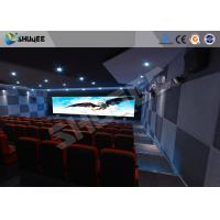 Attractive 5D Theater System 4DOF Motion Chairs With Special Effect Manufactures