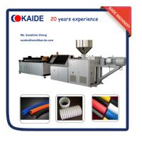 PE Single Wall Corrugated Pipe Making Machine KAIDE factory Manufactures