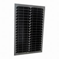 Monocrystalline Solar Module with 20W Maximum Power and 900mm Length of Cables Manufactures