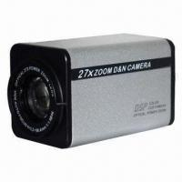 China CCTV CCD Zoom Camera with 22X Optical Zoom Lens, 480TVL/Effio-E DSP Day and Night Box Zoom Camera on sale