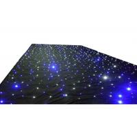 Wedding LED Curtain Lights Warm White Color Temperature For Stage Backdrops Manufactures