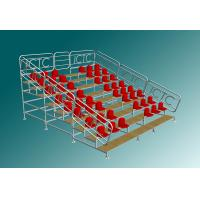Sport Stadium Portable Bleacher Seats With Backs Scaffolding Style Manufactures