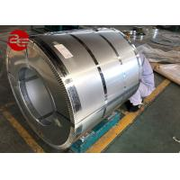 China Anti Finger Galvalume Steel Coil / A792 Aluminum Zinc Alloy Coated Steel G550 on sale