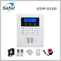 Saful GSM-T1 Saful GSM-9100 GSM & PSTN Security Alarm System Display Anti-thief alarm burglar alarm system Manufactures