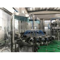 China Full Automatic Liquid Filling Machine , Glass Bottle Beer / Carbonated Drink Filling Machine on sale