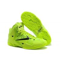 Nike Lebron 11 Fluorescence Green Black Cheap Basketball Shoes From sportsyyy.ru Manufactures