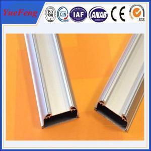 New!Led aluminum extrusion,silver white aluminium tubes anodized,led strips shenzhen Manufactures