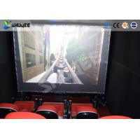 Electronic System Motion Theater Seats Equip Snow Rain Bubble Lightning ETC Manufactures