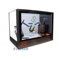Colorful Transparent LCD Display Touch Screen Transparent Monitor Acrylic + Aluminum Case Manufactures