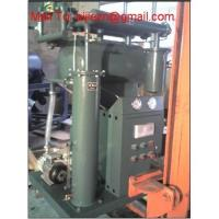 Quality High Vacuum Insulating Oil Purifier Series ZY,Portable Transformer Oil Recycling Plant for sale