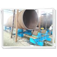 Buy cheap Fit Up Hydraulic Adjustable Welding Rollers Used In Pipe Growing Line from wholesalers